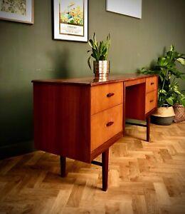 Desk Dressing Table Teak Mid Century Retro Home Office 1960s