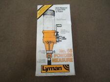 Lyman #55 Powder Measure # 7767783 New old stock