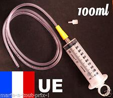 Grosse Seringue 100ml UE MULTI USAGES + rallonge 120cm graduée QUALITE +++ Ø6mm