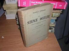 1925.la science occulte / Steiner