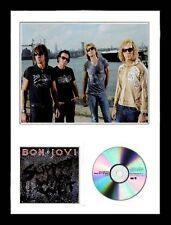 Bon Jovi / Limited Edition / Framed / Photo & CD Presentation /Slippery When Wet