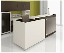 "Quad 72"" Modern Reception/Receptionist Office Desk Shell"