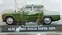 Alfa Romeo Giulia Super 1970 Carabinieri - Scala 1:43 - Atlas - Nuovo