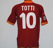 MAGLIA ROMA TOTTI SCUDETTO 2001 2002 Serie A kappa scudetto jersey no match worn
