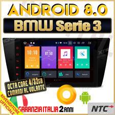 "AUTORADIO 9"" Android 8.0 TOUCH OctaCore 4GB 32GB BMW Serie 3 320D E90 E91 E92 /"
