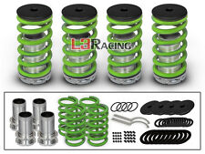 90-94 Mazda 323 Protege COILOVER LOWERING COIL SPRINGS KIT GREEN