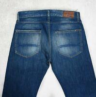 Mens TOMMY HILFIGER Ryder Regular fit Jeans Size W32 L32 Straight Denim blue