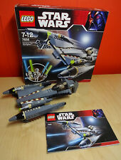 LEGO Star Wars Episode 3 - General Grievous Starfighter (7656) Boxed & Manual