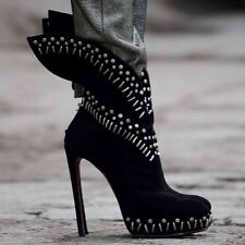 ALAIA Winged Studded Platform Boots ICONIC ALAIA BOOTS £3000.00