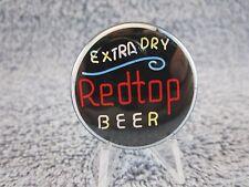 Extra Dry Redtop Beer Pinback, Pin, Button ( Very Nice )