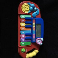 Blue's Clues Mattel Play'n Learn Keyboard Piano Educational Toy Blue & Tickity