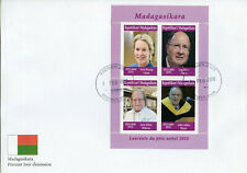 Madagascar 2019 FDC Nobel Prize Winners 2018 4v MS Cover Medicine Physics Stamps