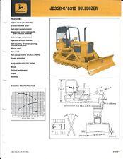 Equipment Brochure John Deere Jd 350 C 6310 Bulldozer C1974 E4621