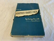 Nineteen Eighty-Four By George Orwell (1984) Hardcover Dust Jacket BOTMCS 1949