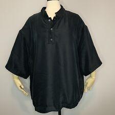 Sun Mountain Golf 1/4 Button Short Sleeve Pullover XXL All Weather