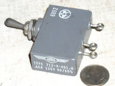 AIRPAX 712A4016 MILITARY MIL SPEC AIRCRAFT CIRCUIT BREAKER TOGGLE SWITCH .4A USA
