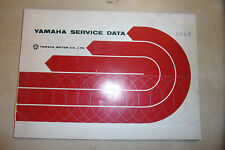YAMAHA OEM SERVICE DATA BOOK MANUAL inc CIRCUIT DIAGRAMS A7 AS CS DS R3 YL 1969