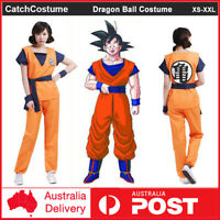 Dragon Ball Z Goku Gohan Cosplay Costume Outfit Party Fancy Dress Optional Wig