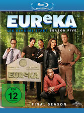 3 Blu-rays * EUReKA - DIE GEHEIME STADT - FINALE STAFFEL / SEASON 5 # NEU OVP +
