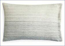Oake Ombre Stripe King Pillow Sham Linen/Cotten Blend - $100 Gray