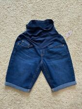 Motherhood Maternity Indigo Blue Jean Shorts Size Small New With Tags