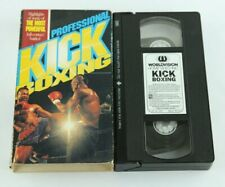 Professional Kickboxing VHS Dale Apollo Cook World Karate Association 1988