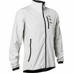 Fox Racing MTB 2021 Ranger Fire Jacket Light Grey