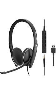 EPOS Sennheiser SC 165 USB Wired Stereo Headset For PC smartphone & tablet