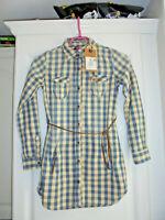 Belle Tunique chemise longue de marque SCOTCH R'BELLE fille taille 10 ans neuve