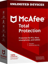 McAfee Total Protection Unlimited Devices for One Year