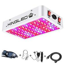 King Plus 600W LED Grow Light Full Spectrum for Indoor Plants Veg and Flower(Dua
