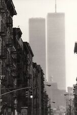 New York, the Word Trade Center 1980