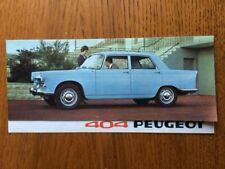Brochure PEUGEOT 404 berline   prospectus French Prospekt  -CL3/13