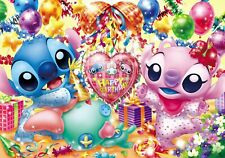 Tenyo 200 Piece Jigsaw Disney Lilo & Stitch Happy Birthday 22.5x32cm D-200-893