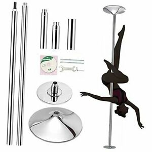 Professional Stripper Pole Spinning Static Dance Pole, 45mm Removable