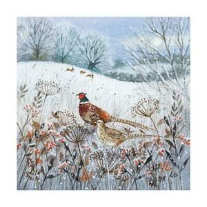 Christmas Cards - Pack of 8 by Lucy Grossmith - Pheasants