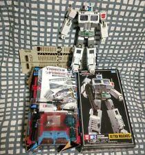 Takara Transformers MasterPiece MP-2 Ultra Magnus White Cybertron Commander 100%