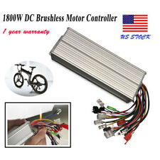 1800W Electric Bicycle E-bike Scooter Brushless DC Motor Speed Controller 48/72V