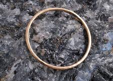 9 ct GOLD  ROUND HAMMERED SUPER SKINNY STACKING RING ~ BRAND NEW ~ HANDMADE 1mm