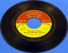 "1960s GOSPEL Christian Chapel Choir What A Friend We Have In Jesus  7"" 45"