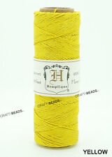 0.5MM Polished Hemp Twine Hemptique Cord Variegated Macrame String 10lbs - 205FT