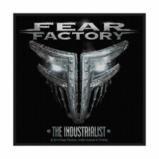 FEAR FACTORY THE INDUSTRIALIST OFFICIAL LICENSED SEW ON PATCH BAND BADGE NEW