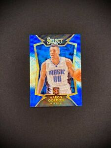 2014-15 Panini Select AARON GORDON Blue White Variation SP Rookie RC #91
