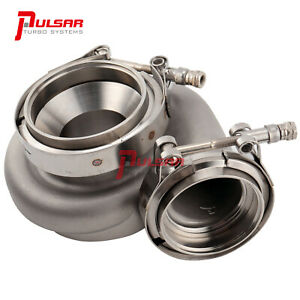 Pulsar Stainless Steel Vband 0.82A/R Turbine Housing for GTX3584RS GEN II TURBO