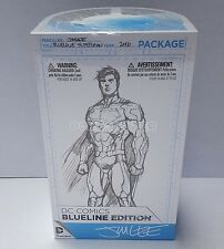 DC Comics Blueline Superman Action Figure by Jim Lee - New in Box - In Stock