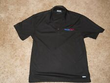 Mens~ On Tour ~ Black Golf Shirt ~ Size M ~