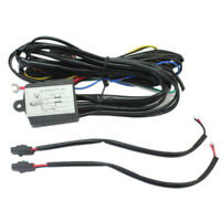 DRL LED Daytime Running Fog Light Relay Harness On/Off Auto Control Switch 12V