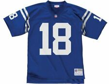 Mitchell And Ness Legacy Jersey T-Shirt Indianapolis Colts Peyton Manning #18
