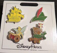 Disney Parks 4 Pin Peter Pan Pin Set