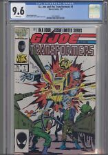 G.I. Joe and the Transformers #1 CGC 9.6 1987 Comic:  NEW CGC FRAME